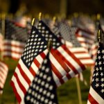 American Flags - Tax Freedom Day
