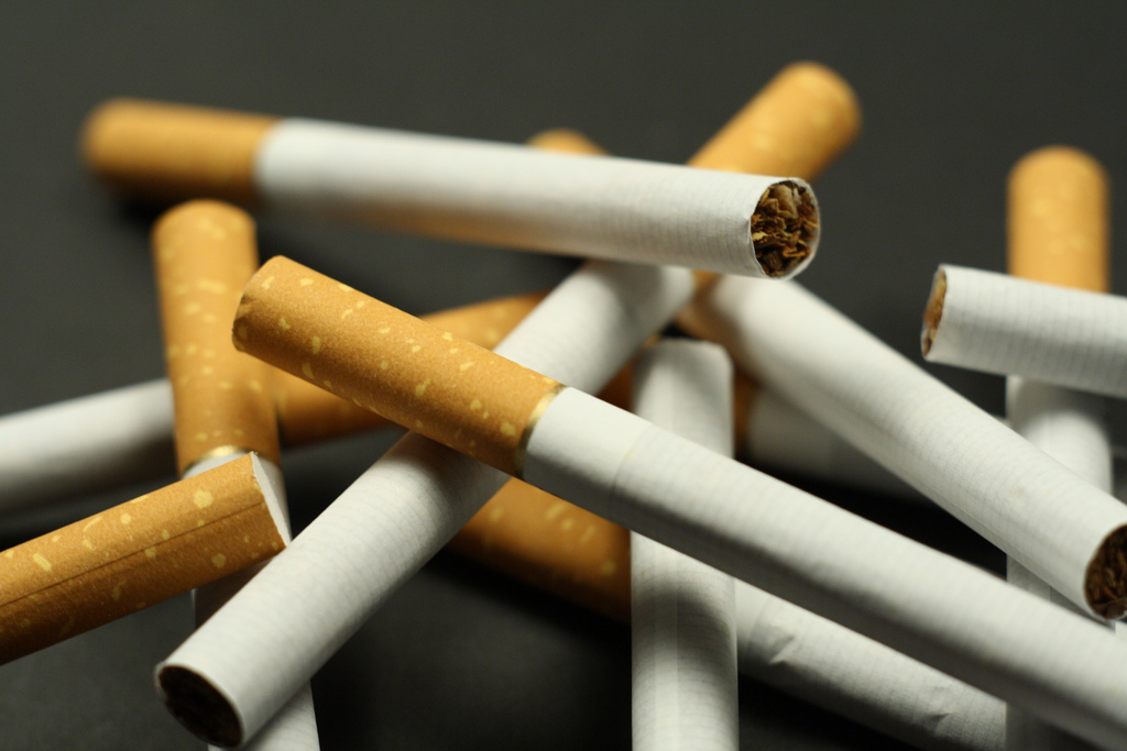 State price for cigarettes
