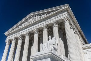 US supreme court building, Wayfair Online Sales Tax Decision