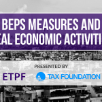 BEPS Measures and Real Economic Activities