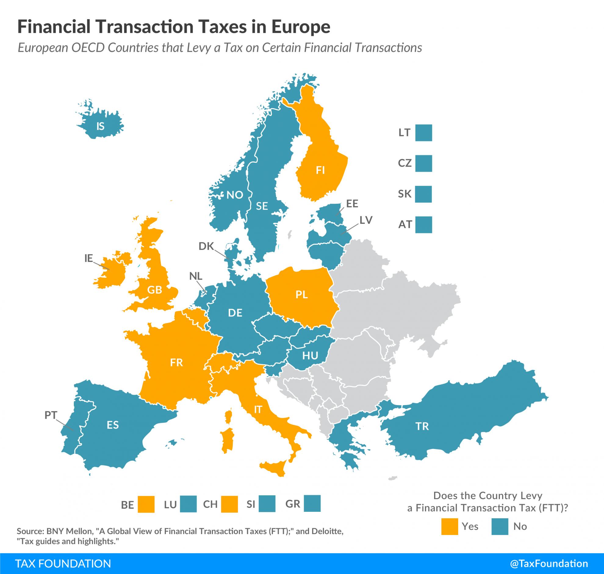 Financial Transaction Taxes in Europe, EU financial transaction tax, FTT in Europe, FTT in EU, Financial transactions tax in europe