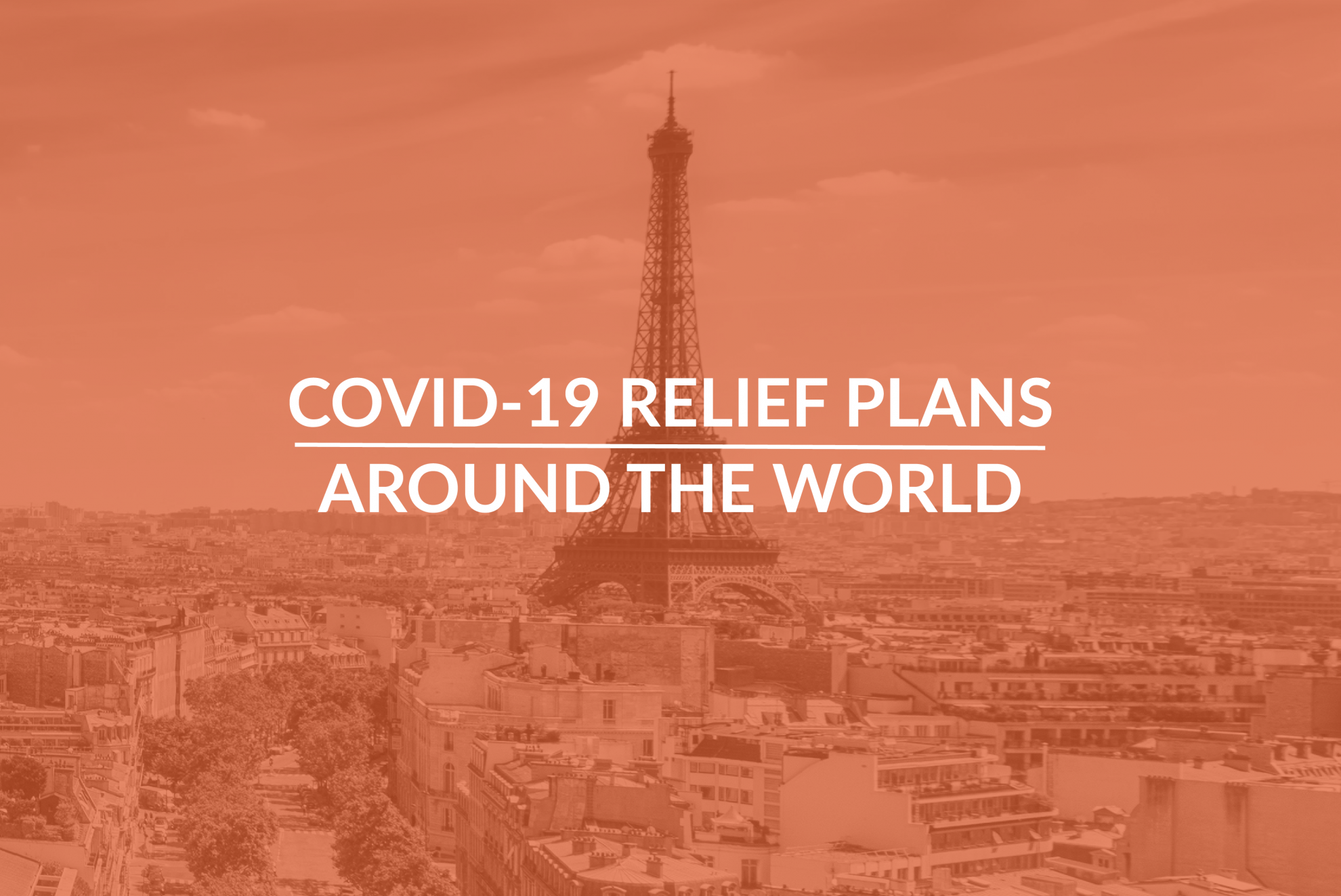Coronavirus Economic Relief Plans Around The World Covid 19