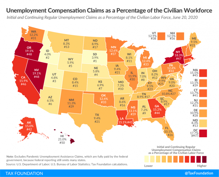 Tracking Unemployment Benefits: A Visual Guide to Unemployment Claims