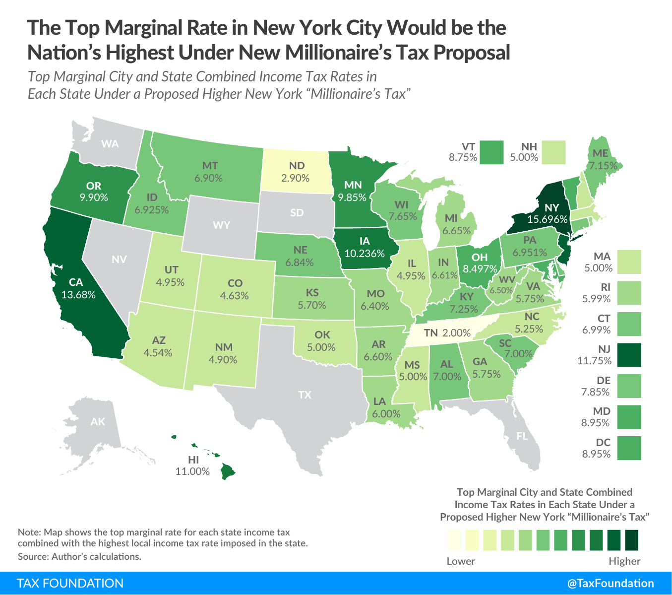 The top marginal tax rate in New York City would be the nation's highest under new New York millionaire's tax proposal, New York millionaires tax. New York budget gap, New York revenue shortfall, New York fiscal crisis