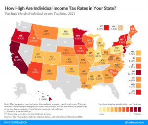 How High Are Individual Income Tax Rates in Your State?
