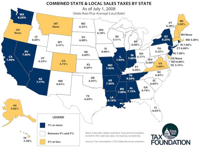 Tax Sales Ca Tax Sales Rate