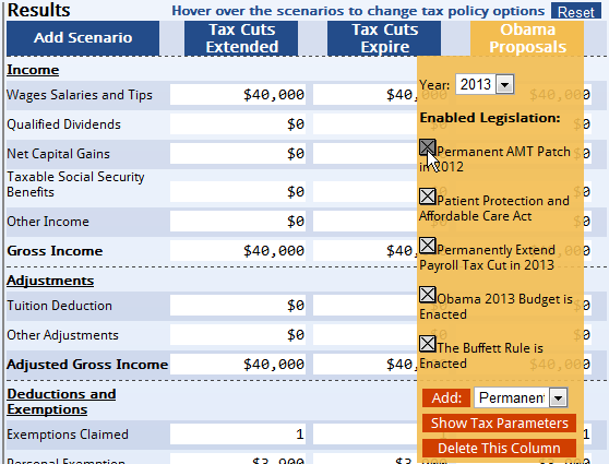 MyTaxBurden Tax Calculator
