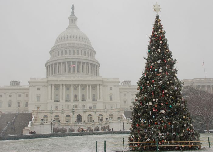 Christmas Time in Congress
