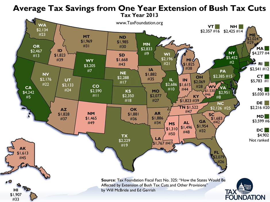 How Much Will It Cost You If Bush Tax Cuts End A Lot