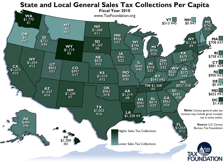 monday map sales tax collections per capita fiscal year 2010